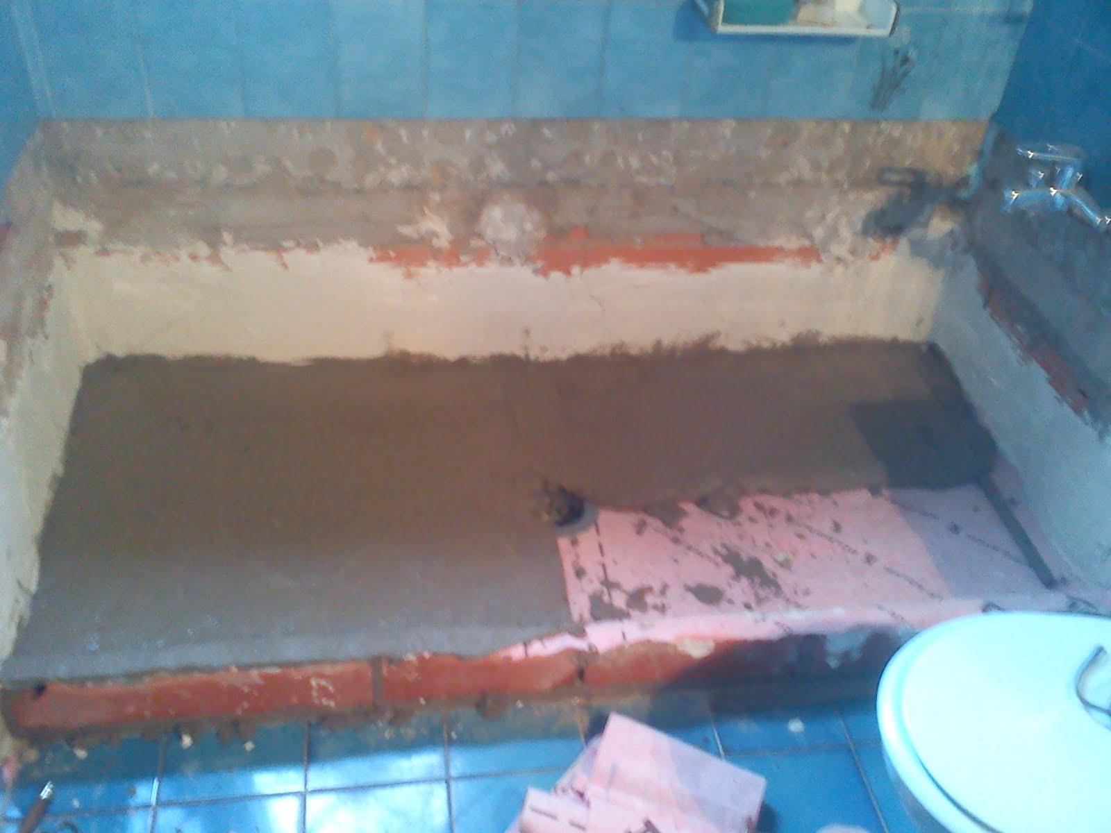 Reforma de ba era a plato de ducha de obra fotos 4 - Fotos de duchas de obra ...