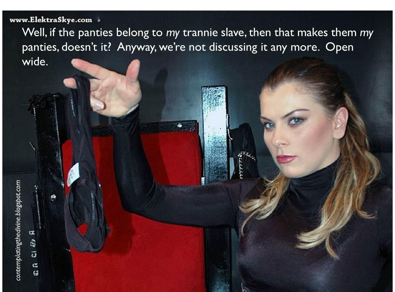 Female domination panty slave stories