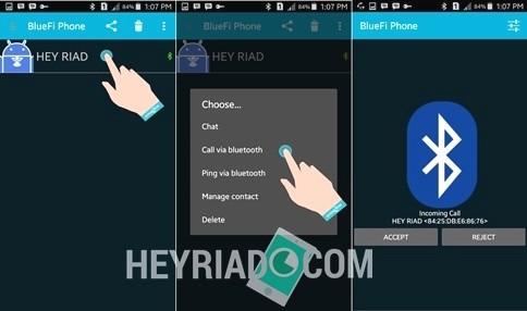 Cara Nelpon Gratis Di Android Melalui Bluetooth