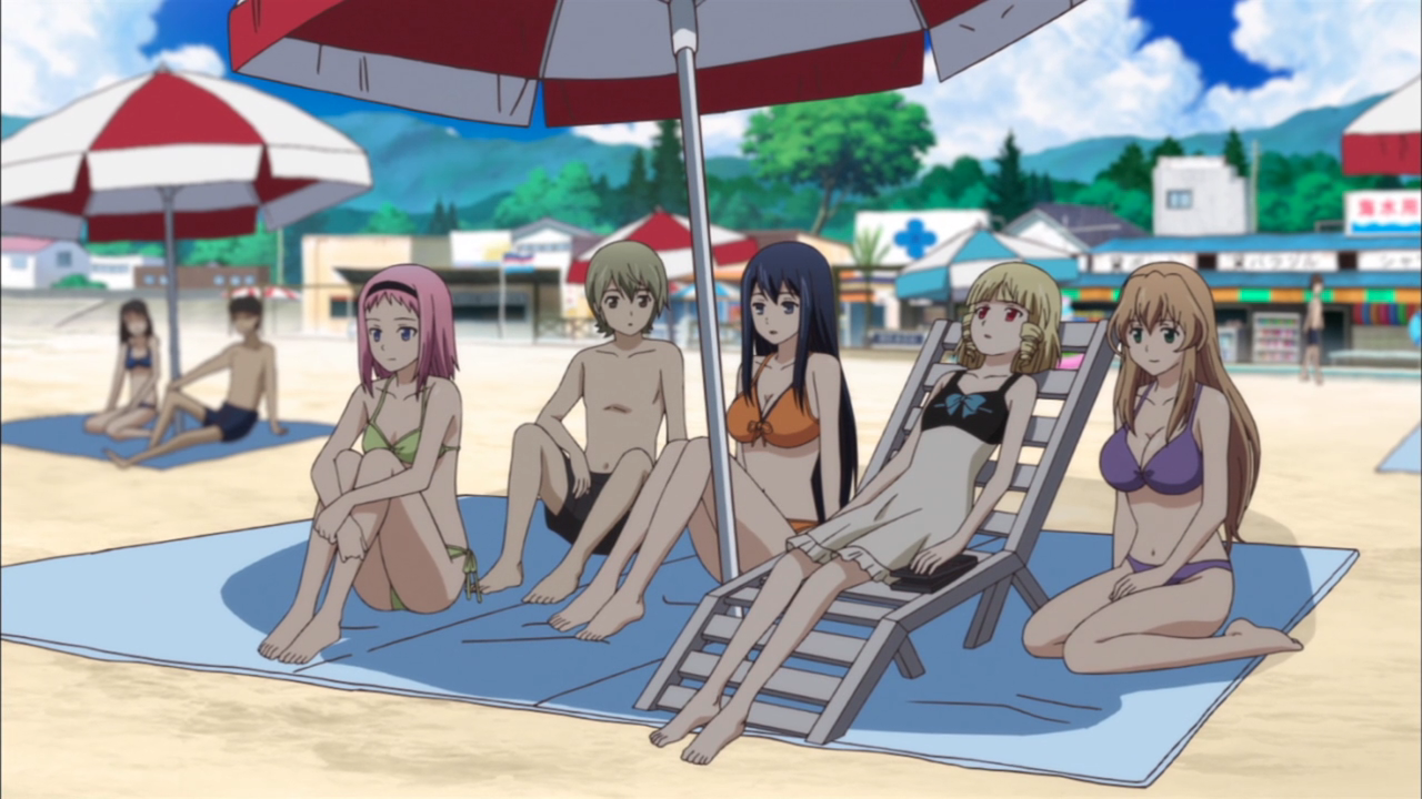 Obligatory beach episode