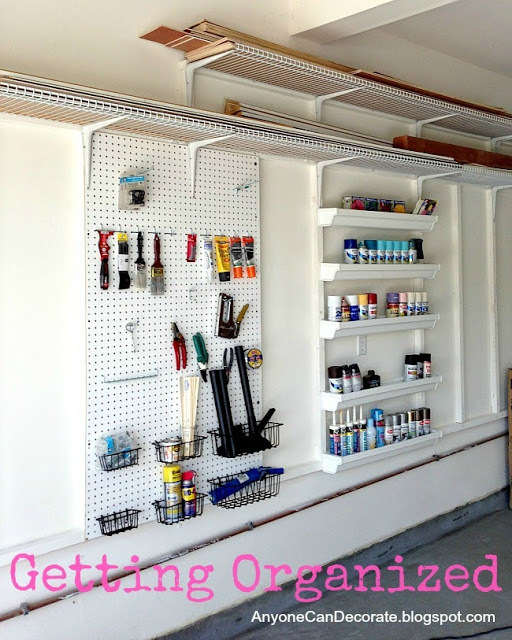 DIY Garage Organizer
