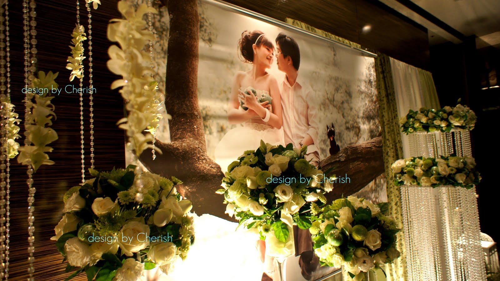 徐原希-Decoration and design: 翡白晶燦_ Cherish Wedding decoration