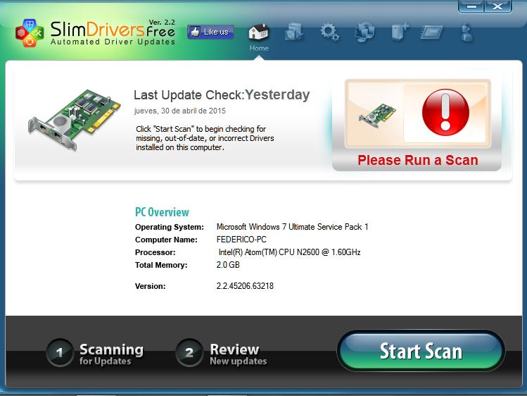 Actualizar Windows 32bits drivers y mejorar ... - Driver Turbo