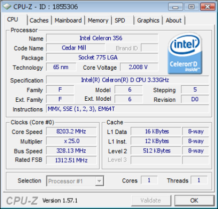 World Record Speed Of Processors Seem To Have Just Been Solved Recently And The Processor Is Precisely Choice Fell On An Intel Celeron