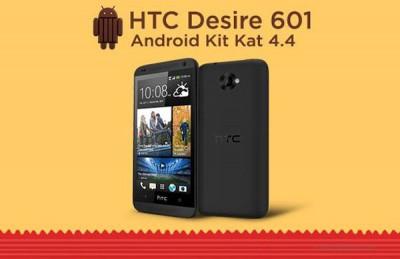 HTC Desire 601 Dapatkan Android 4.4 KitKat dan Sense 5.5