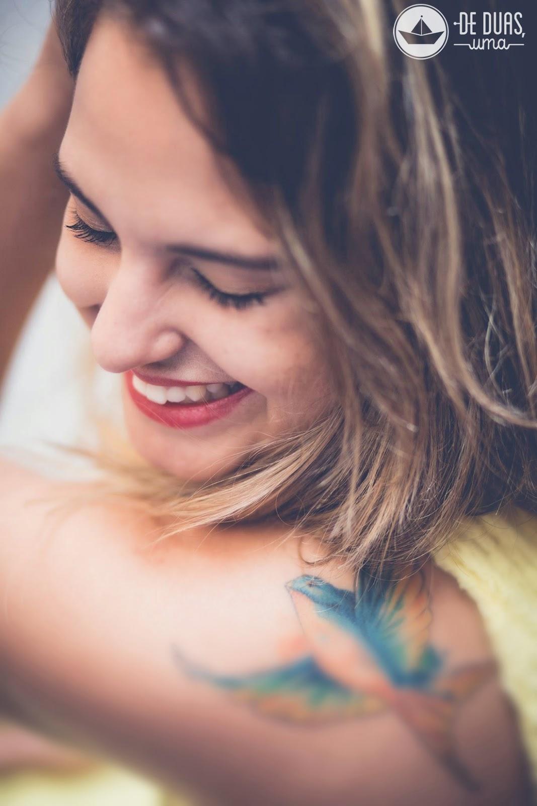 tattoo aquarela adorinha de duas uma