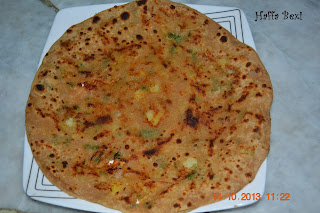 Aalo ka paratha (Mashed Potato Bread)