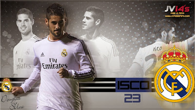 PES 2013 Start Screen Isco by Ghost7