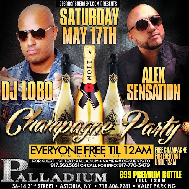 Champagne Party - Palladium - May 2014