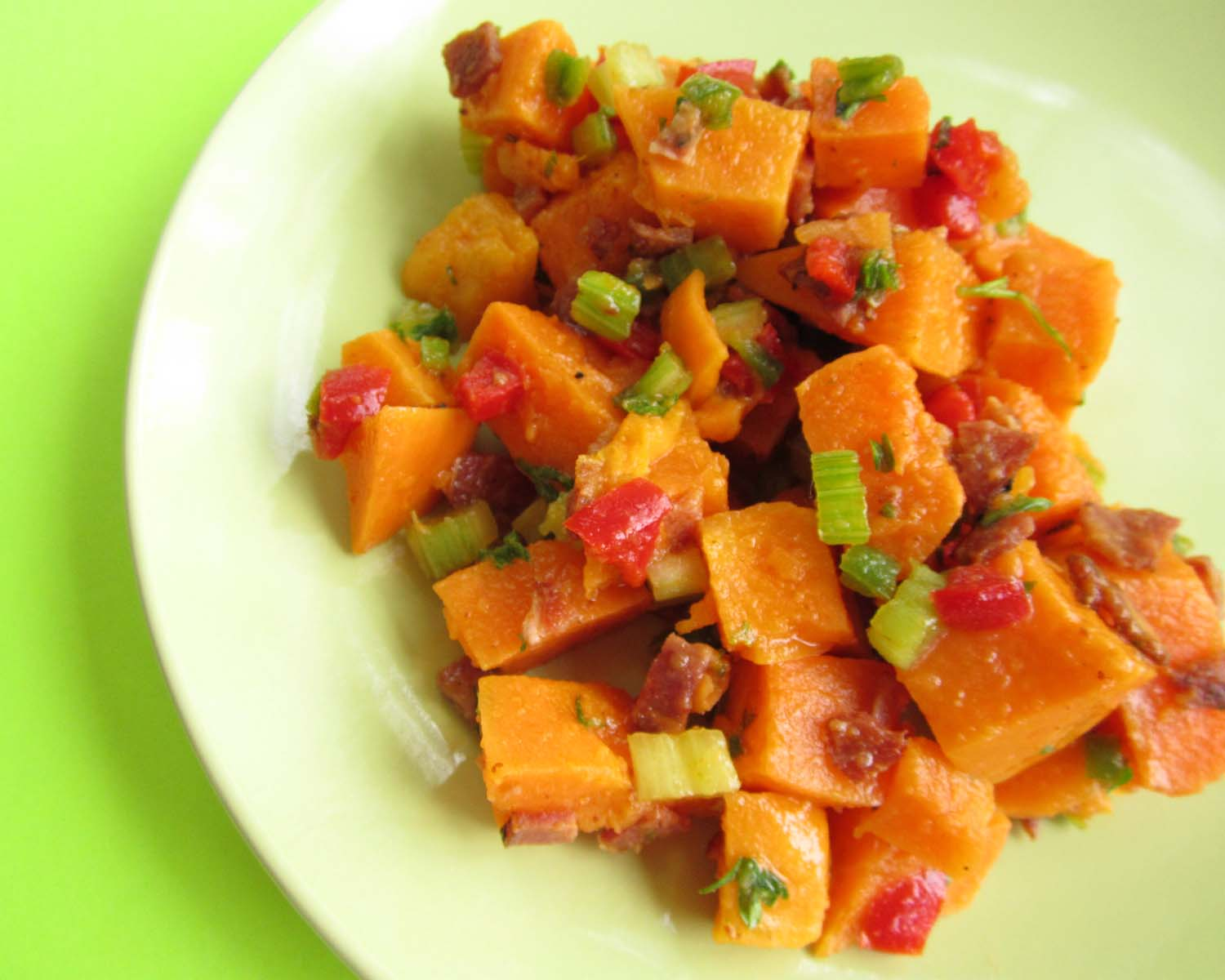 cognizable: Dairy, Nut, Gluten Free Sweet Potato Salad