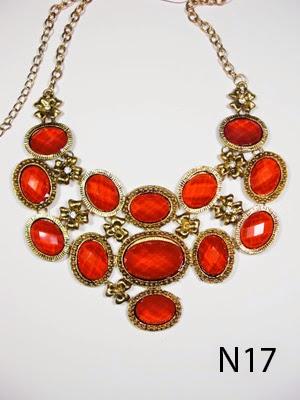 kalung aksesoris wanita n17