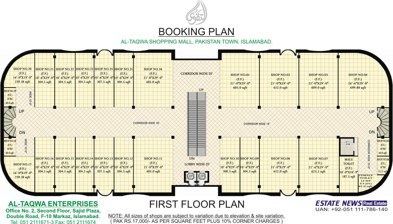Building plans shopping center for Building floor plans