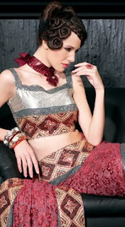 Trendy Blouse Designs - Latest Blouse Patterns - Choli Designs for 2012