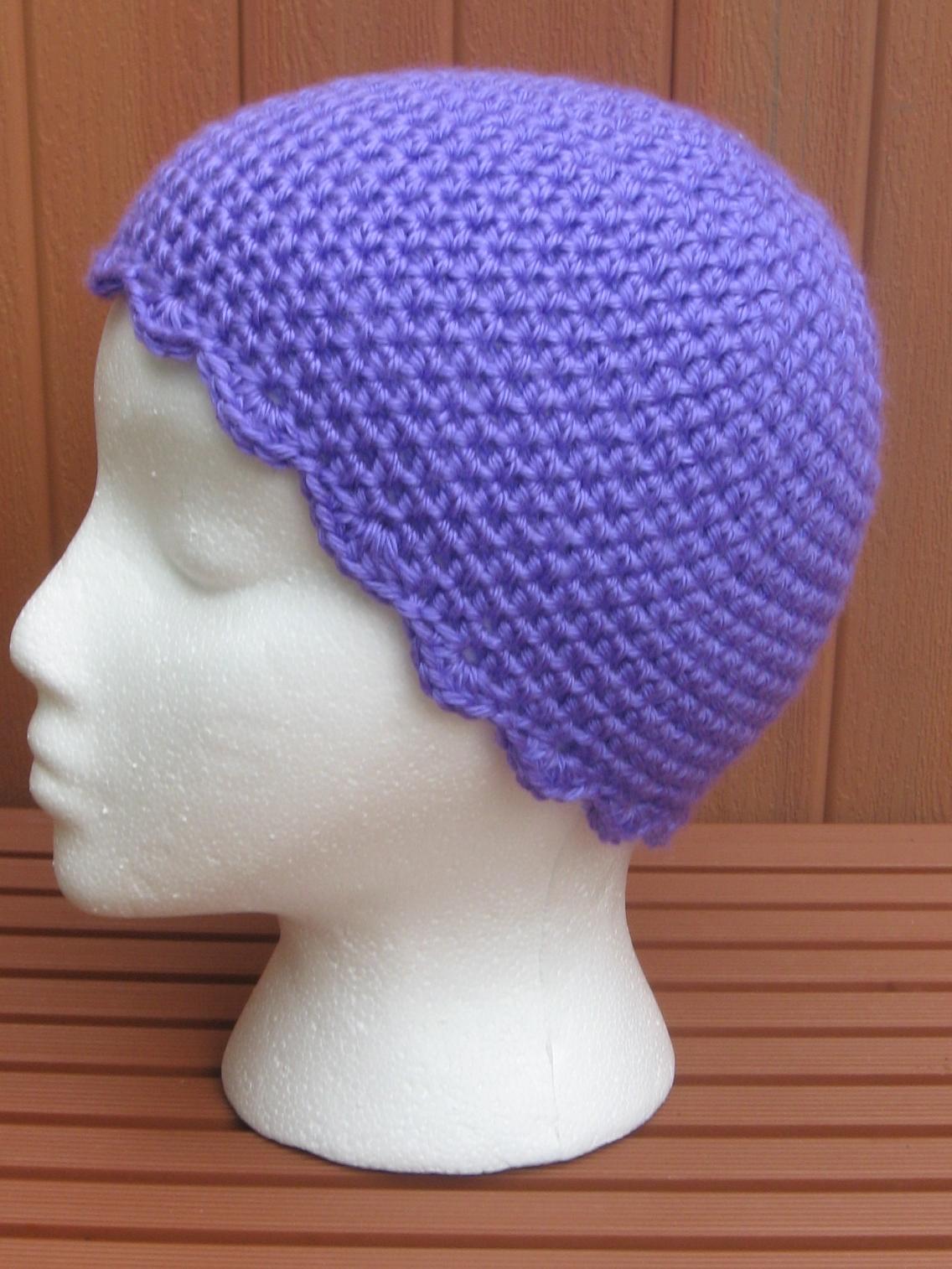 Chemo Caps Knit Patterns : Crochet Projects: Crochet Chemo Sleep Cap