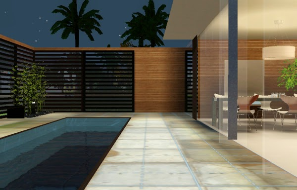 [LIVING DESIGN] WOODEN BOX HOUSE THE SIMS 3 around house