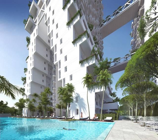 Sky Habitat condominium