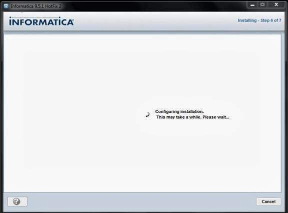 Informatica 9 5 1 client installation steps for Informatica 9 architecture