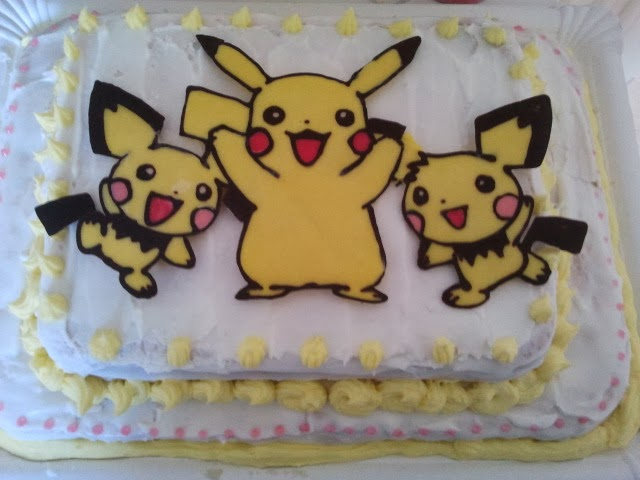 with my fingers le gateau pikachu. Black Bedroom Furniture Sets. Home Design Ideas