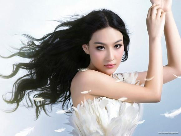 Girls Beauty Wallpaper Zhang Xinyu 16