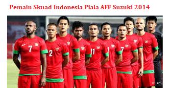 skuad timnas Piala AFF Suzuki 2014