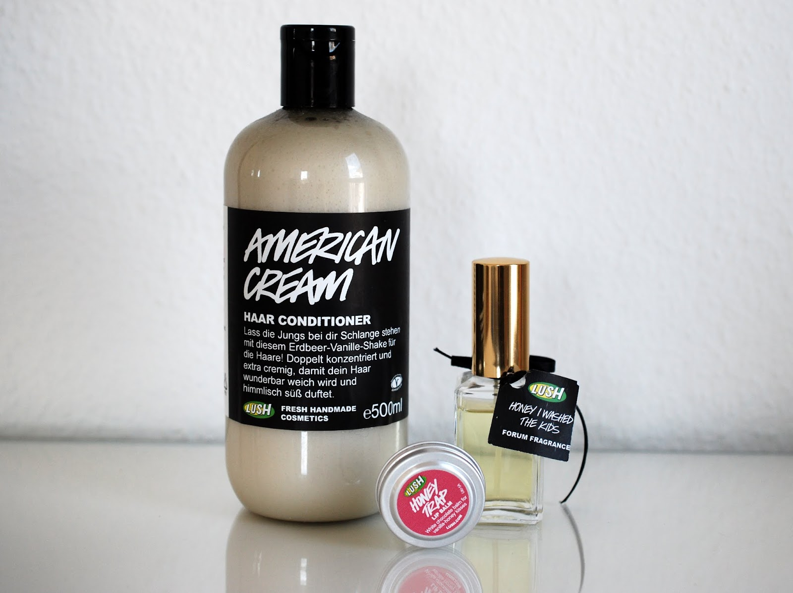 Blogparade Top 3 Lush Produkte