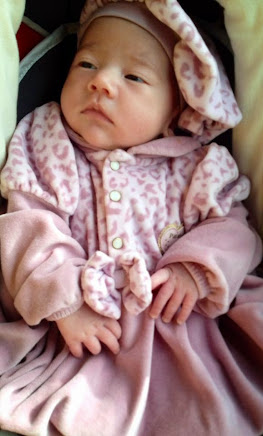 Minha terceira neta Lauren Sophie.