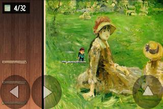 Uma das várias pinturas presentes no jogo Saicum