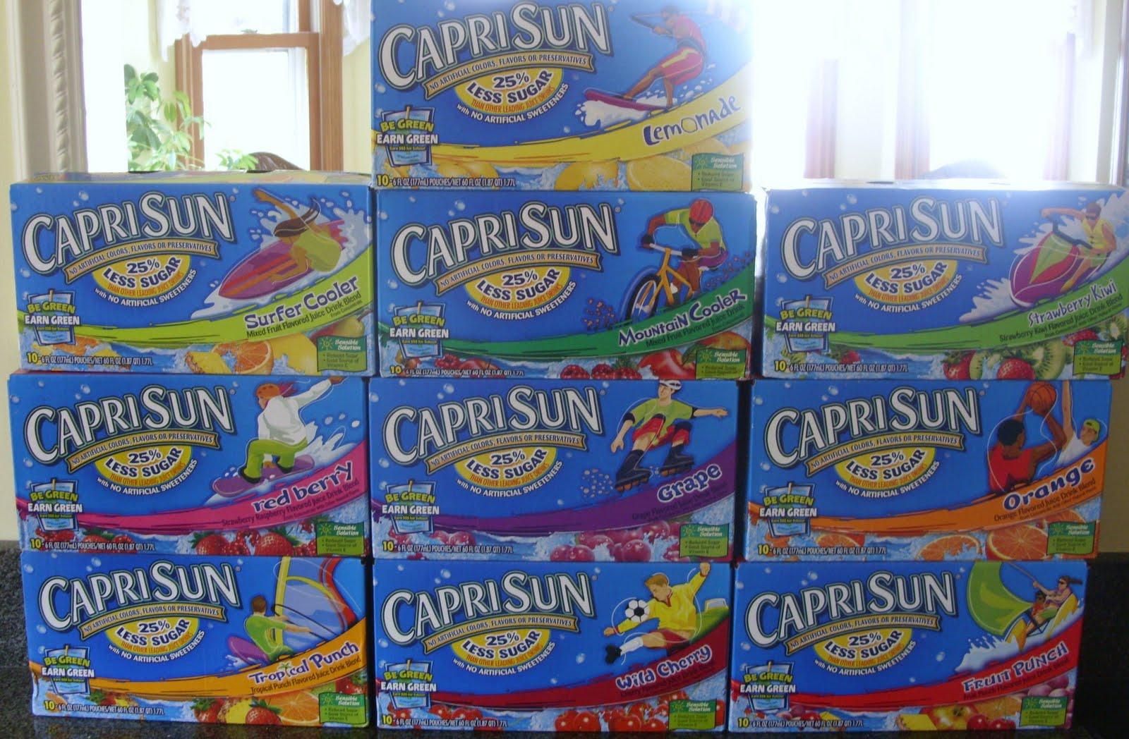 Capri sun coupons sep 2018