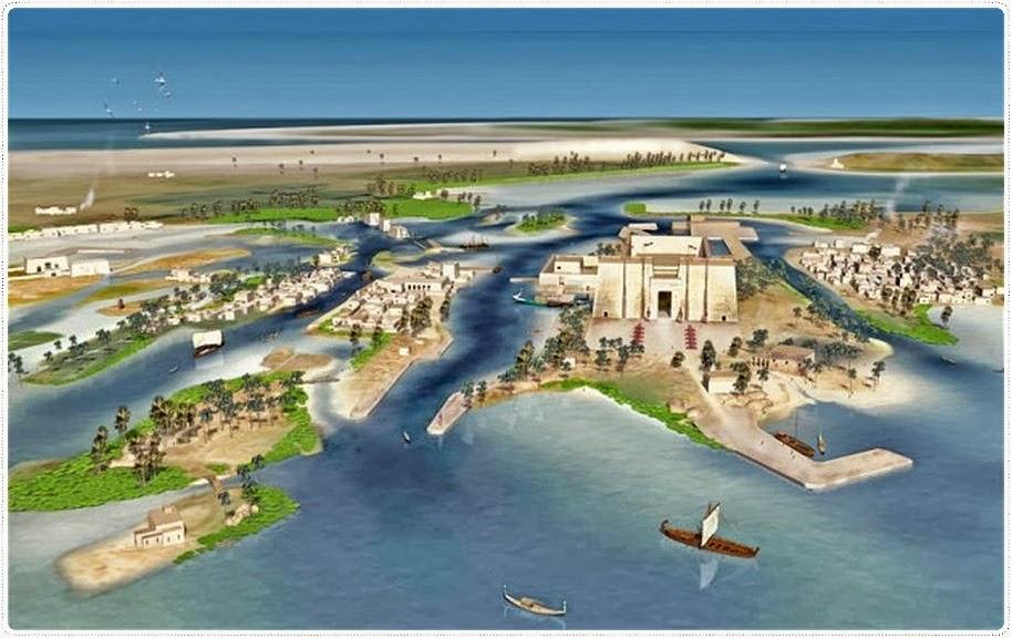 Herakleion, una ciudad que el mar mantuvo oculta durante milenios Heraklion1