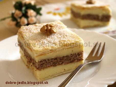 Juhoslovanský krémeš - recepty