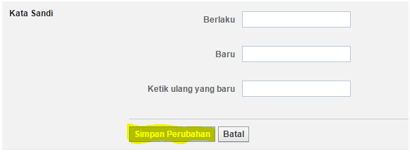 Cara Mengganti Kata sandi/ Password Facebook