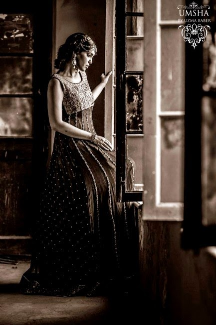 Umsha by Uzma Babar winter / Fall Bridal Dresses for Libas