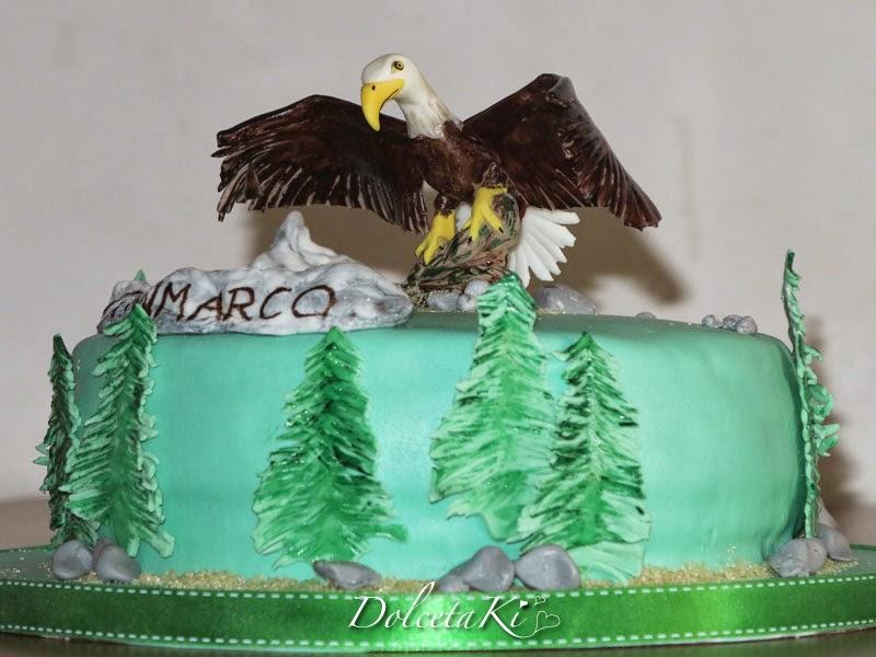 torta aquila americana
