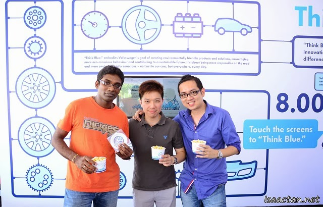 Another shot of my friends and I at the Volkswagen On Tour Penang