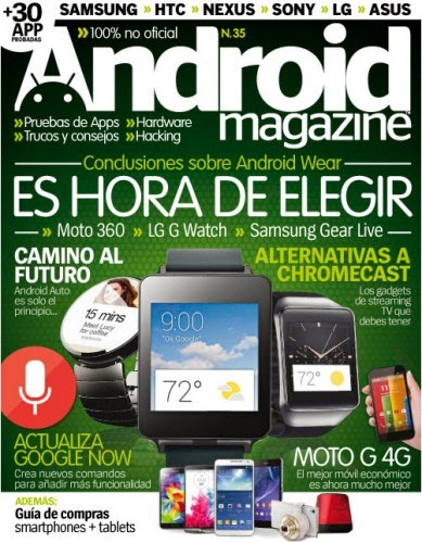 Android Magazine Spain � Issue 35 2014