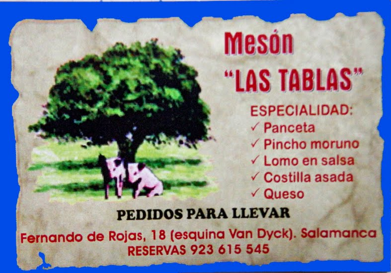 MESON LAS TABLAS