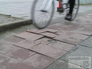 """""""Radweg"""" Hofweg"""