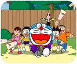 Doremon đánh cầu, chơi game hoạt hình doremon hay