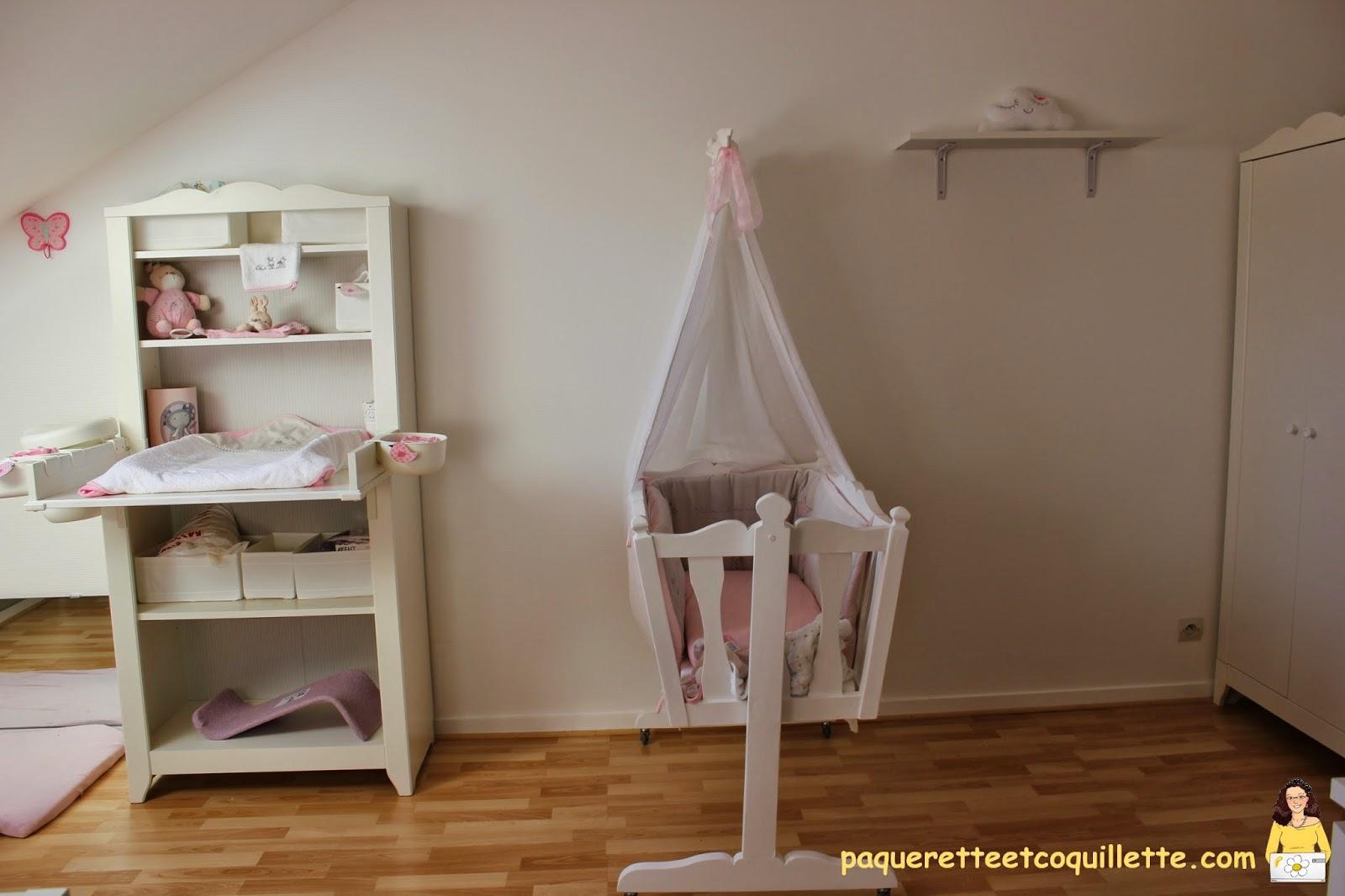 Paquerette et coquillette: la chambre de coquillette façon montessori
