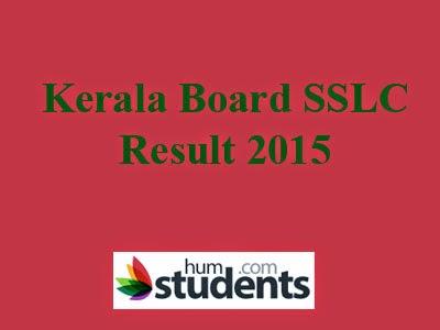 Kerala Board SSLC Result 2015