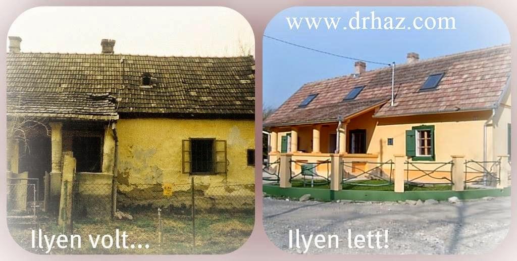 rusztikus parasztház felújítása