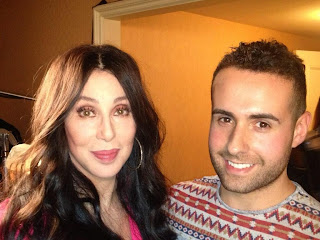 Cher and Carlo De Santis