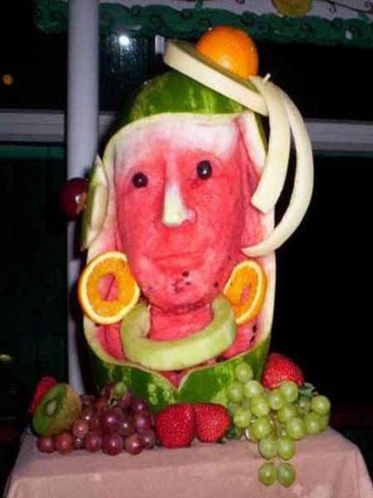 Very interesting and imaging fruit arts images