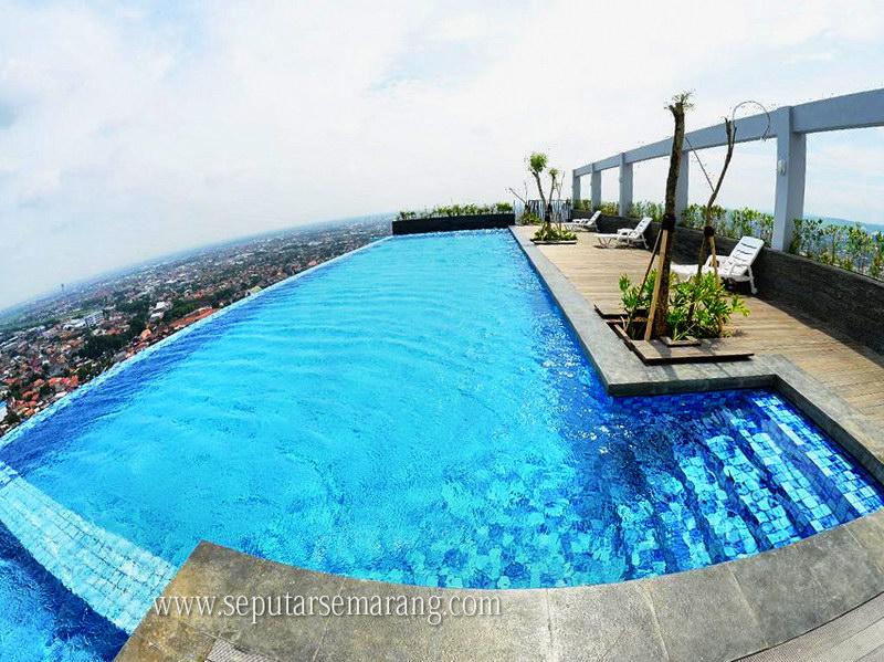 Kolam renang Best Western Semarang