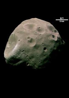 Luna Fobos de Marte