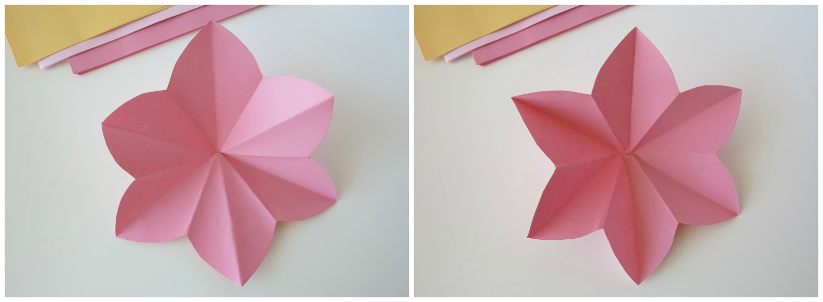 Ashlee rae designs paper flower tutorial the flower the creases wont be in the right places you will have to refold some of the creases so they alternate from mountain fold to valley fold mightylinksfo Choice Image