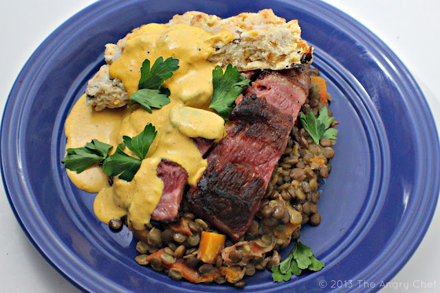 The Angry Chef: Not your Grandma's: Brisket with butternut ...