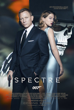Poster Of Spectre In Dual Audio Hindi English 300MB Compressed Small Size Pc Movie Free Download Only At worldfree4u.com