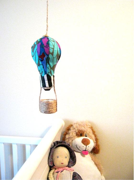 light bulb hot air balloon