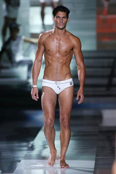 Models : David Gandy
